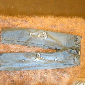 High waisted Levi jeans size 25